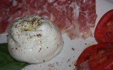 Rich, creamy burrata