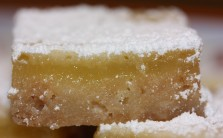 Luscious lemon bars!