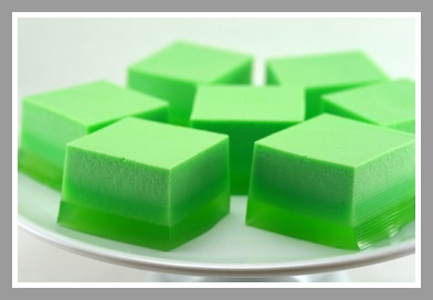 Green Ice Cream Jello