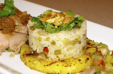 Jazzed Up Jasmine Rice with Pineapple