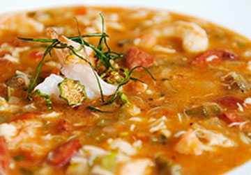 Seafood with Andouille Gumbo