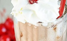 Cherry Chocolate Float th