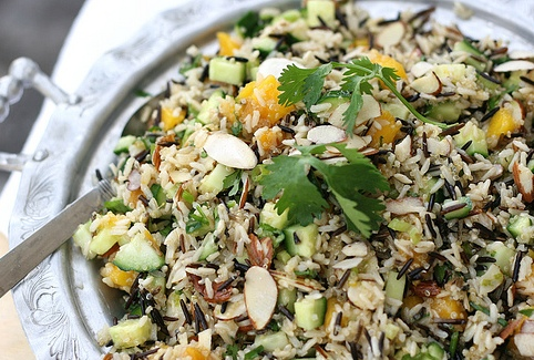 Mango Cucumber Rice Salad