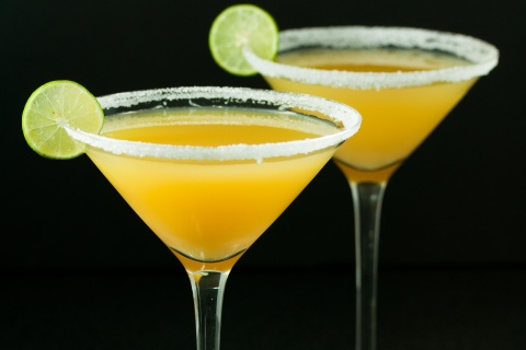 Pineapple Key Lime Citrus Martini