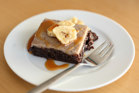 Banana Split Brownies