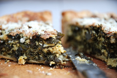 Collard Greens Pie