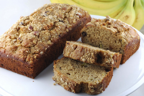 Lightened Up Banana Bread