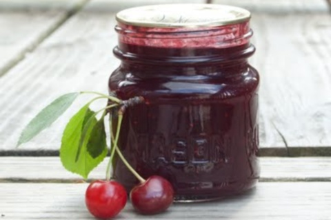 Sour Cherry Raspberry Lime Jam