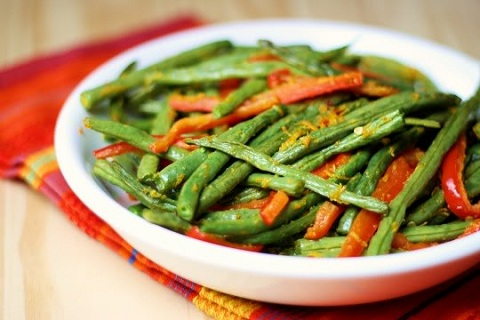 Orange Infused Green Beans