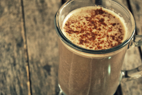 Chocolate Bourbon Eggnog