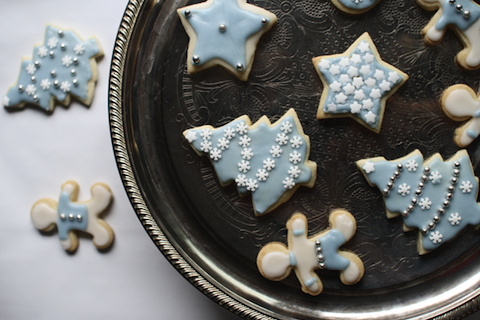 Decorated Sugar Cookies by The Flourishing Foodie