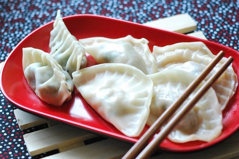 Homemade Steamed Dumplings