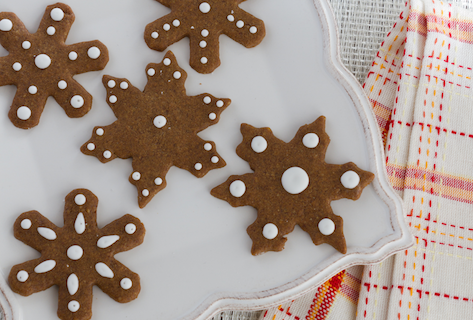 Pecan Spice Gingerbread Cookies by Chasing Delicious