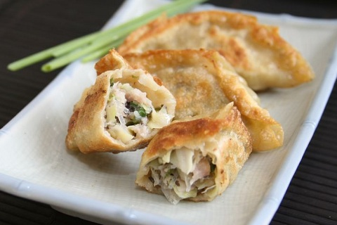 Fried Pork Potstickers