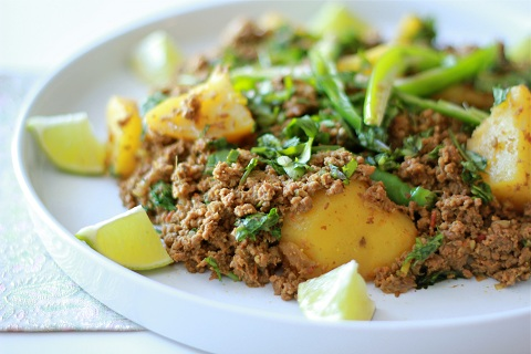 Spicy Ground Beef with Potatoes