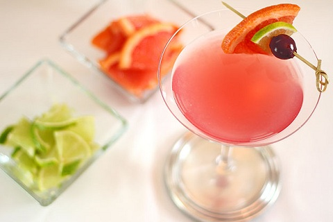 Grapefruit, Lime and Maraschino Martini