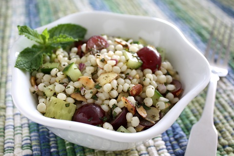 Minted Grape Couscous