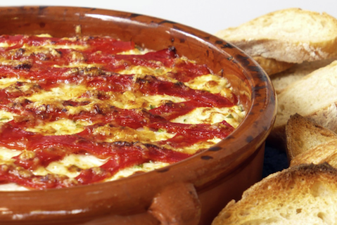 Warm Piquillo & Crab Dip