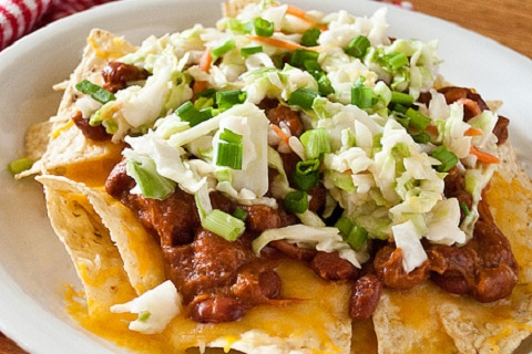 BBQ Pulled Pork Nachos