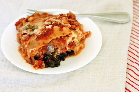 Ground Turkey Slow Cooker Lasagna