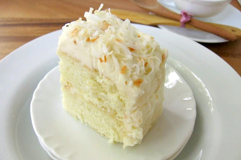 Coconut Ginger Layer Cake
