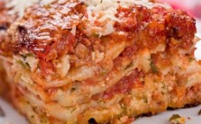Lasagna on the Table