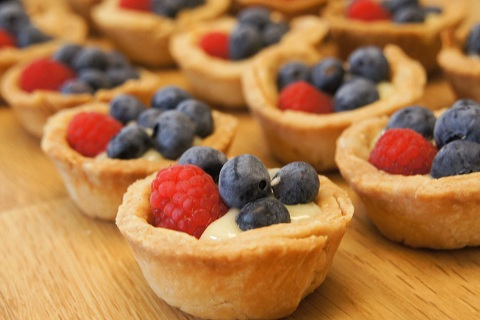 Lemon Berry Tarts