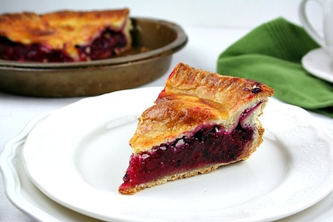 Blackberry Raspberry Lemon Pies