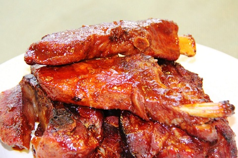 Boubon Whiskey Spare Ribs
