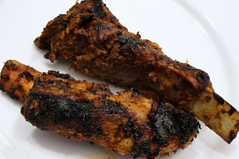 Chipotle-Marinated Grilled Pork Ribs