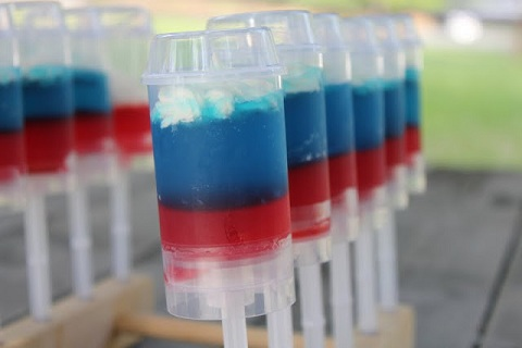 Jello Shot Push Pops