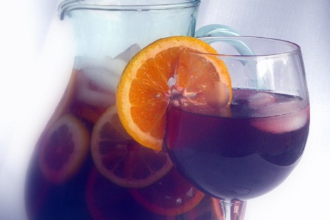 Sangria Inspired Iced Tea