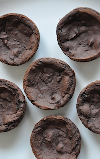 Vegan Black Bean Brownie Bites