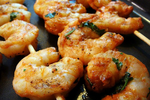 Spicy Sweet Shrimp
