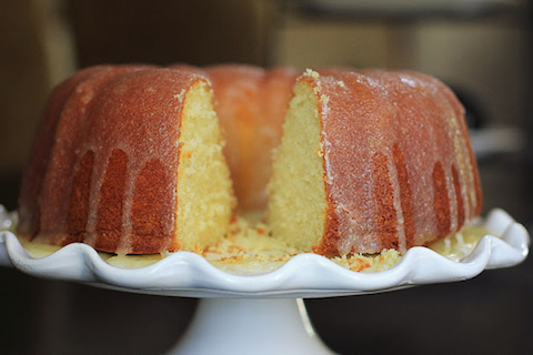 Buttermilk Rum Pound Cake