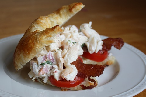 Lobster BLT Sandwiches