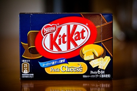 Petit Cheese Kit Kat