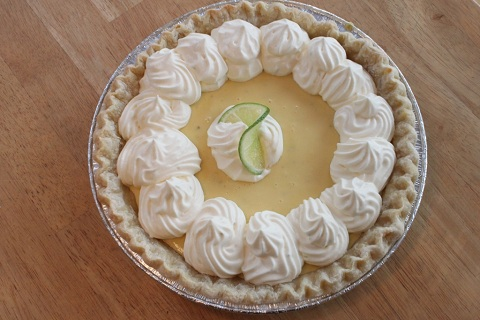 White Rum Key Lime Pie