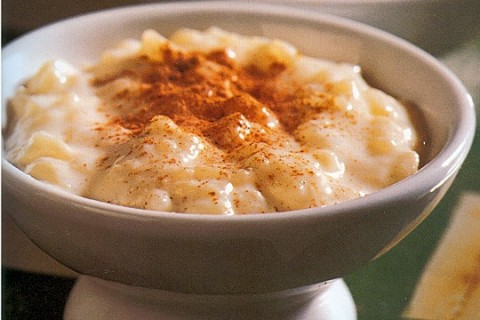 Old Fashioned Slow Cooker Rice Pudding