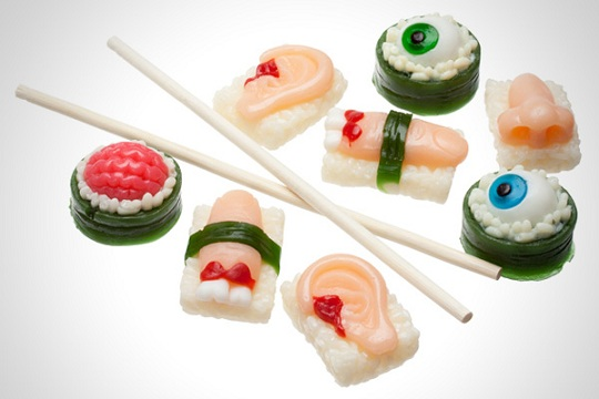 Body Part Sushi Gummies