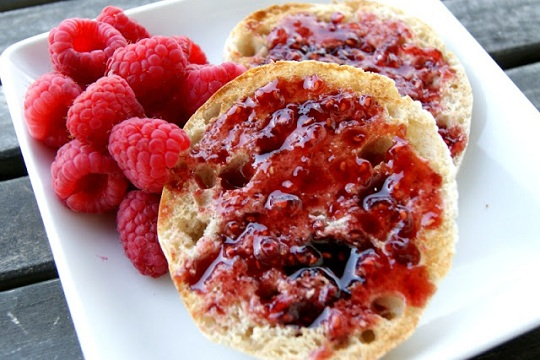 Pomegranate-Raspberry Jam