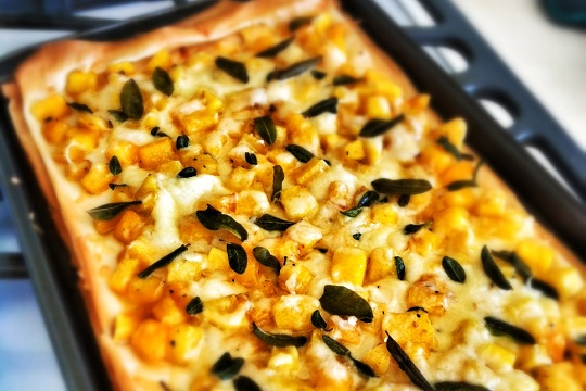 Butternut Squash and Sage Tart