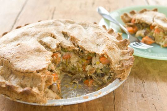 Turkey and Stuffing Pot Pie