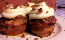 Bacon Meatloaf Cupcakes