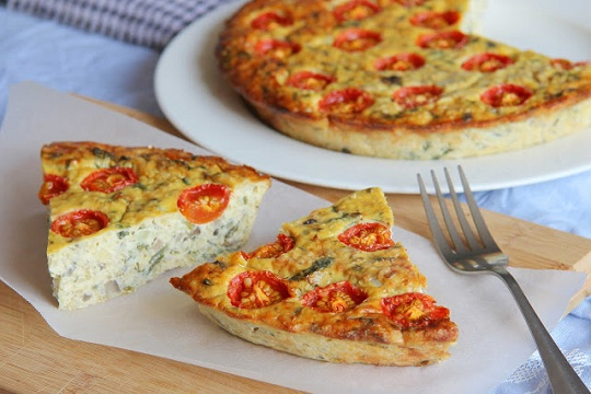 Crustless Quinoa Quiche