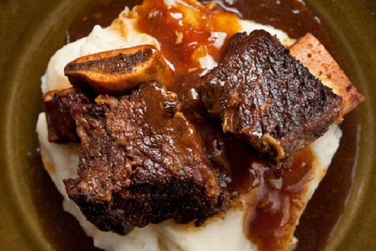 Pressure Cooker Cola-Braised Beef Short Ribs from Chow Photo by Amy Wisniewski