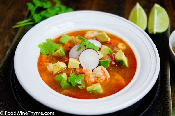 Shrimp Avocado Soup