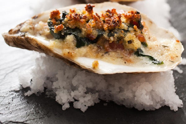Oysters Rockefeller from Bite Sized