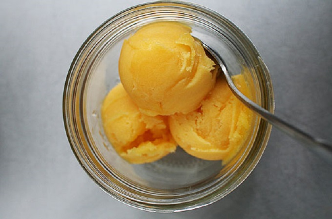 Mango Sorbet from Lottie and Doof