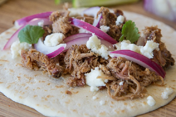 Pulled Pork Tacos from The Kitchn Photo by  Nealey Dozier